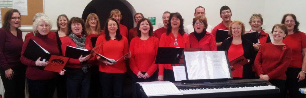 group picture of the choir, contact us for more details on 07710 174087